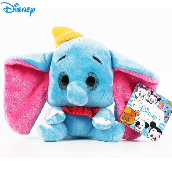 Disney Dumbo - Плюшена играчка Слончето Дъмбо 15см с блестящи очи 1602242