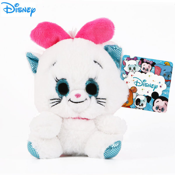 Disney Marie - Плюшена играчка Коте Мари 15см с блестящи очи 1602241
