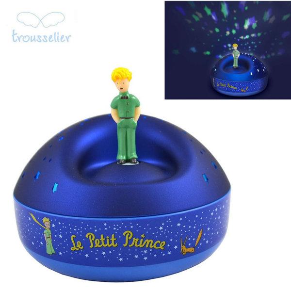 Trousselier - Музикална лампа прожектор Звездно небе Малкия принц 5030