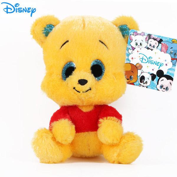 Disney Winnie the Pooh - Плюшена играчка Мечо Пух 15см с блестящи очи 1602239