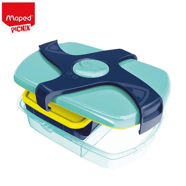Maped Picnik Concept - Кутия за закуски Blue green 9870017
