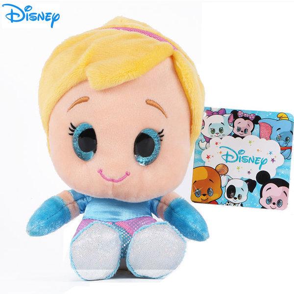 Disney Princess - Плюшена играчка Пепеляшка 15см с блестящи очи 1602244