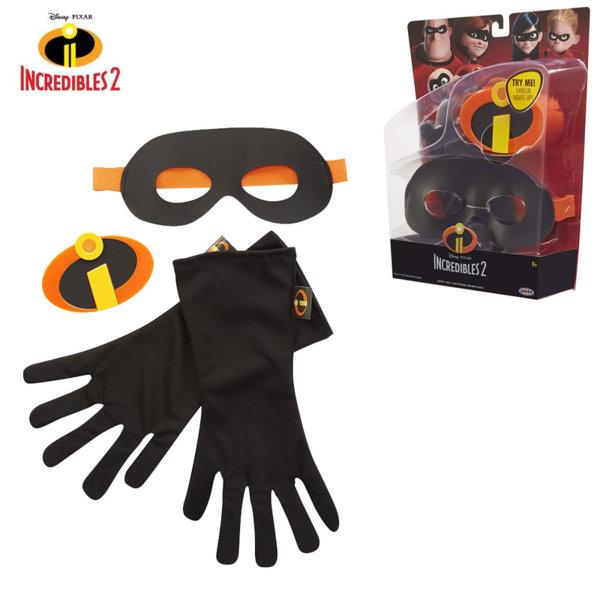 Disney Incredibles - Комплект светеща емблема, маска и ръкавици Феноменалните 74941