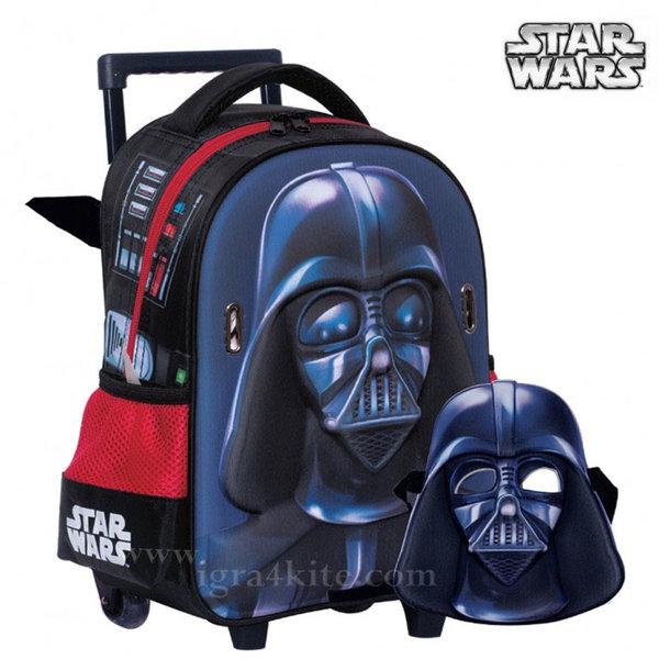 Star Wars - Раница тролей за детска градина 3D Стар Уорс 338