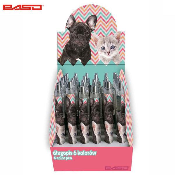 Paso Dog&Cat - Автоматична химикалка Куче и коте 18-3645DPK