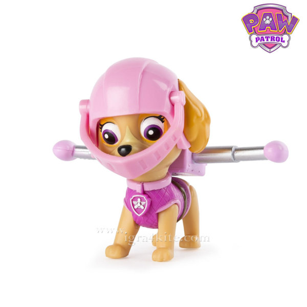 Paw Patrol Mission - Кученцето Скай розовият рицар 67000