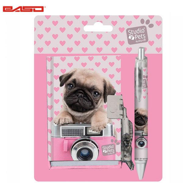 Paso Studio Pets - Комплект таен дневник с химикалка Студио петс PEY-3643