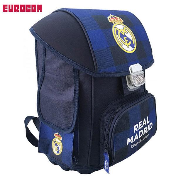 Eurocom Real Madrid - Ученическа ергономична раница Реал Мадрид 53566