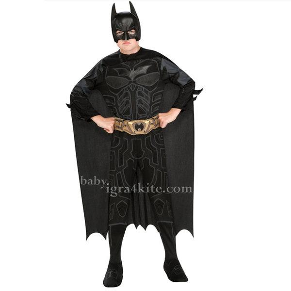 Batman - Детски карнавален костюм Батман 881286