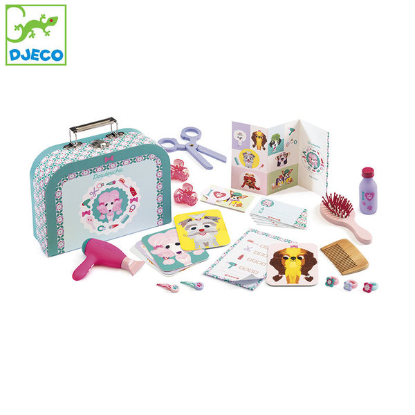 1Djeco - Детски комплект фризьорски салон за кучета Doudouchic 06556