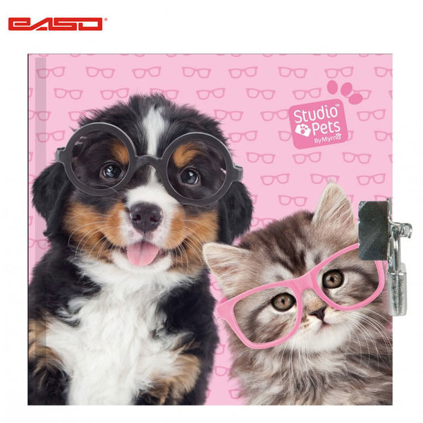 Paso Studio Pets - Таен дневник с катинар Студио петс PEN-3640