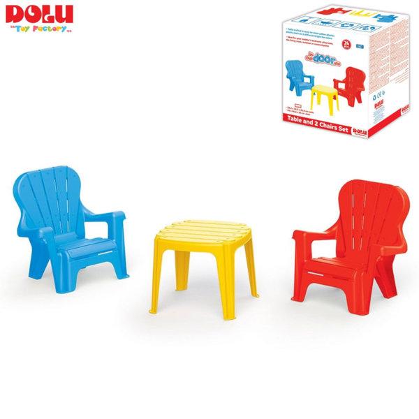 Dolu - Детска маса с две столчета 3007