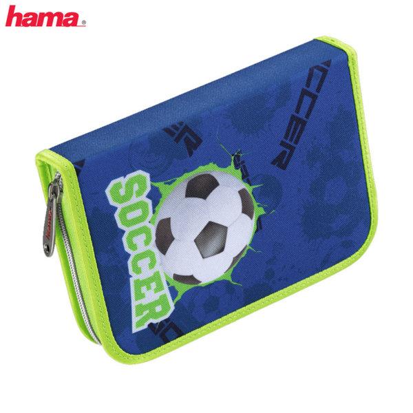 Hama - Ученически несесер 1 цип зареден Football 129061