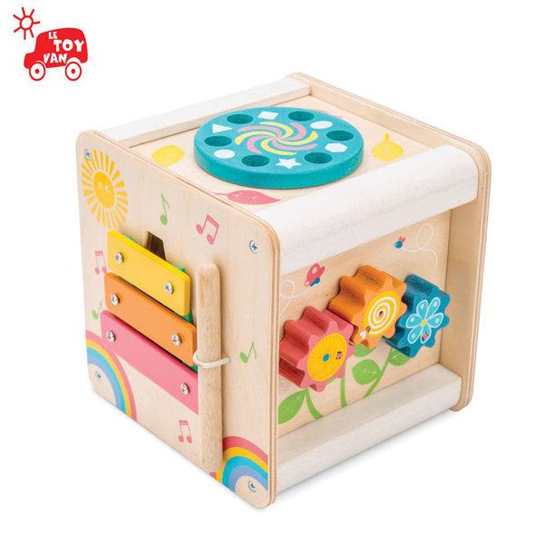 Le Toy Van - Дървен куб с активности pl105