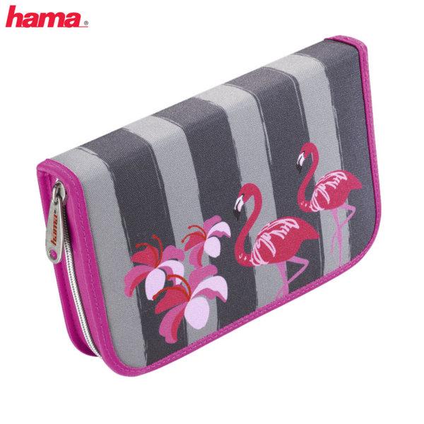 Hama - Ученически несесер 1 цип зареден Flamingo 129063
