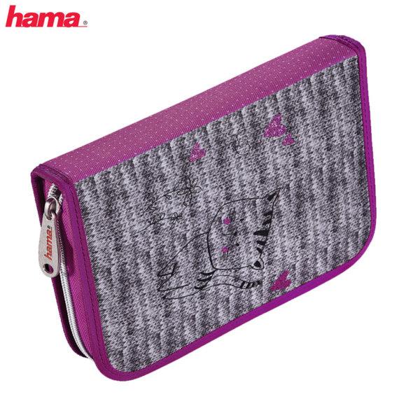 Hama - Ученически несесер 1 цип зареден Lovely Cat 139126