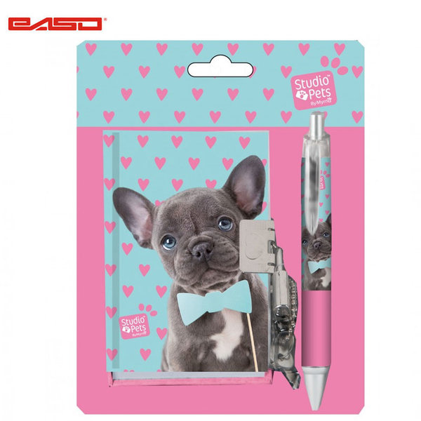 Paso Studio Pets - Комплект Таен дневник с химикал Студио петс PEM-3643