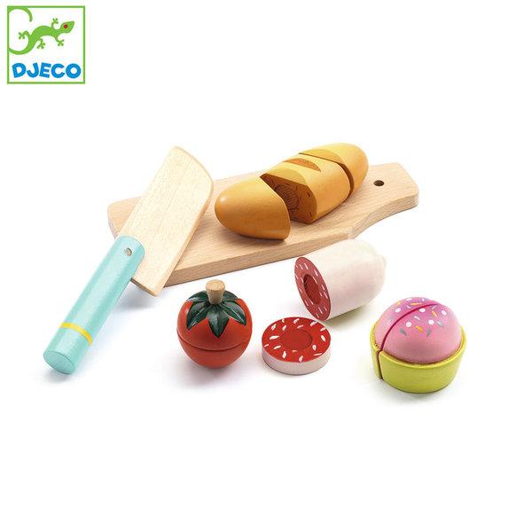 Djeco - Дървена храна за рязане DJ06529