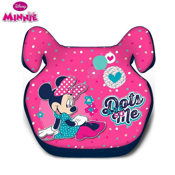 Disney Minnie Mouse - Стол за кола Мини Маус 15-36 кг 9706