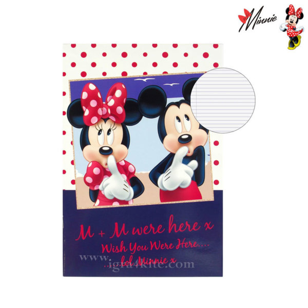 Disney Minnie Mouse - Тетрадка Мини Маус B5 40 листа 34592