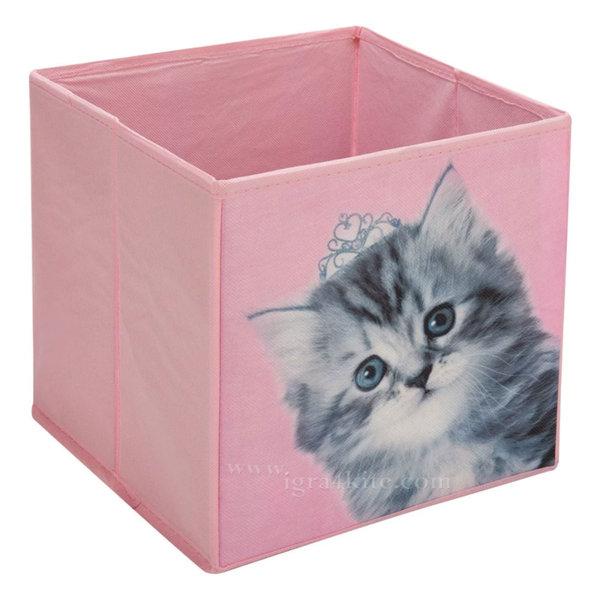 Кутия за играчки коте 10559