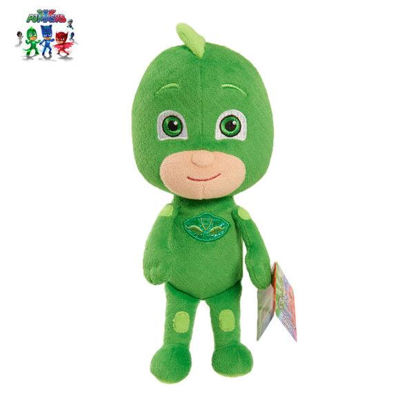PJ Masks - Плюшена играчка Пиджи маски Gekko 15см 24520