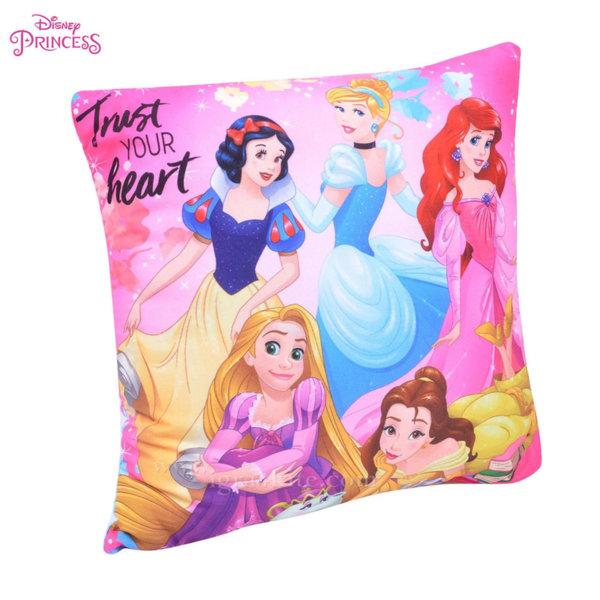 Disney Princess - Детска декоративна възглавница Принцеси 78926