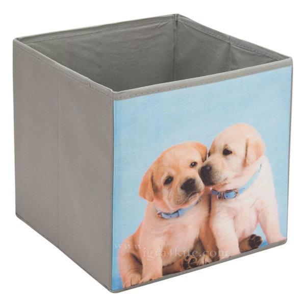 Кутия за играчки кученца 119218