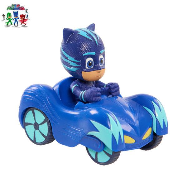PJ Masks - Мини превозно средство с фигура Cat Boy 24630