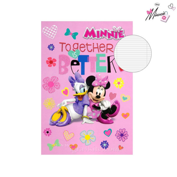 Disney Minnie Mouse - Тетрадка Мини Маус B5 40 листа 34291