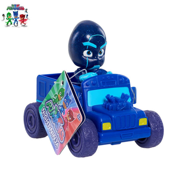 PJ Masks - Мини превозно средство с фигура Night Ninja 24630