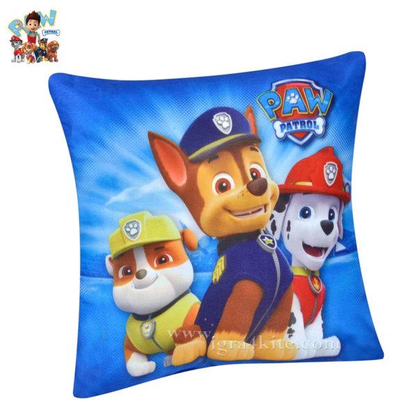 Paw Patrol - Детска декоративна възглавница Пес Патрул 75929