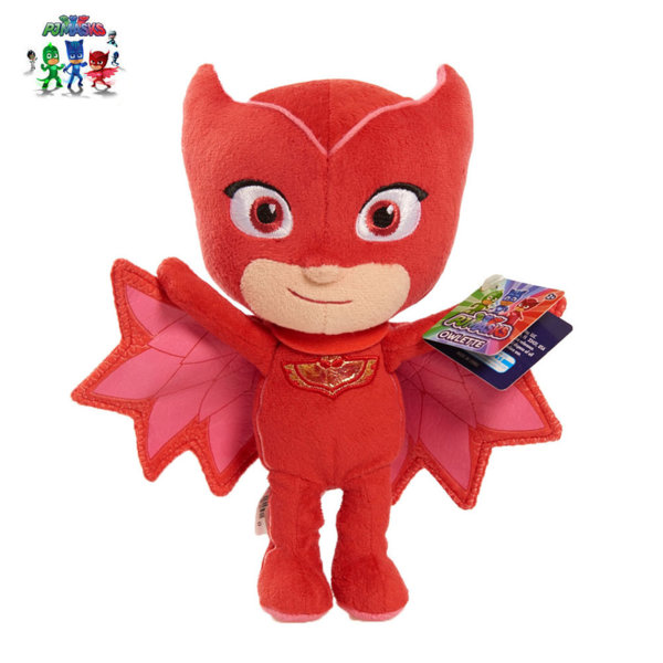 PJ Masks - Плюшена играчка Пиджи маски Owlette 15см 24520
