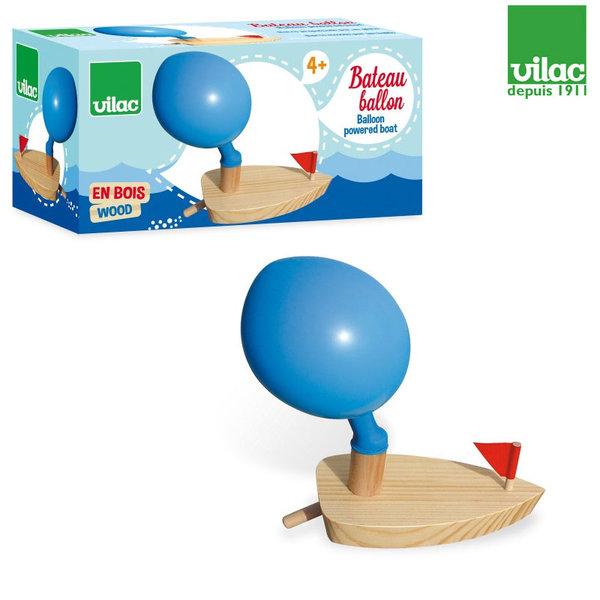 Vilac - Дървена лодка с балон 2906