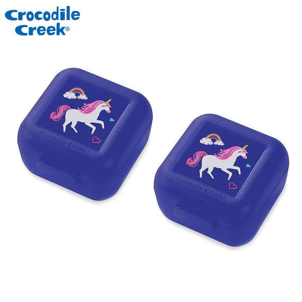 Crocodile Creek - Комплект две малки кутии за храна Еднорог 51886