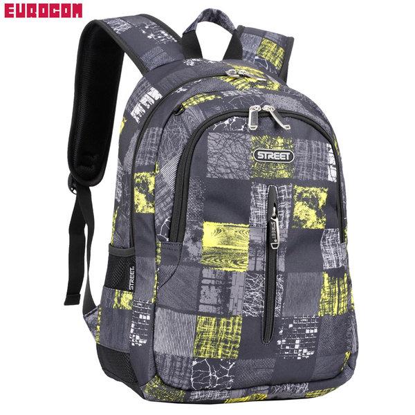 Eurocom - Ученическа раница Street United Quadro 53732