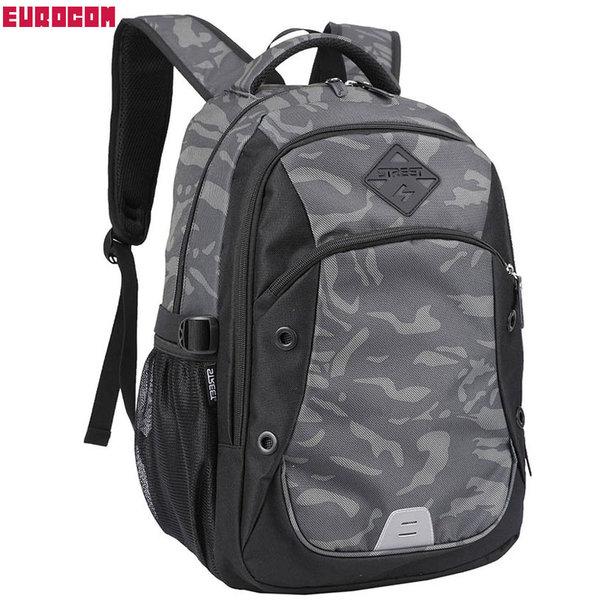 Eurocom - Ученическа раница Street Round Stage Camouflage 53741