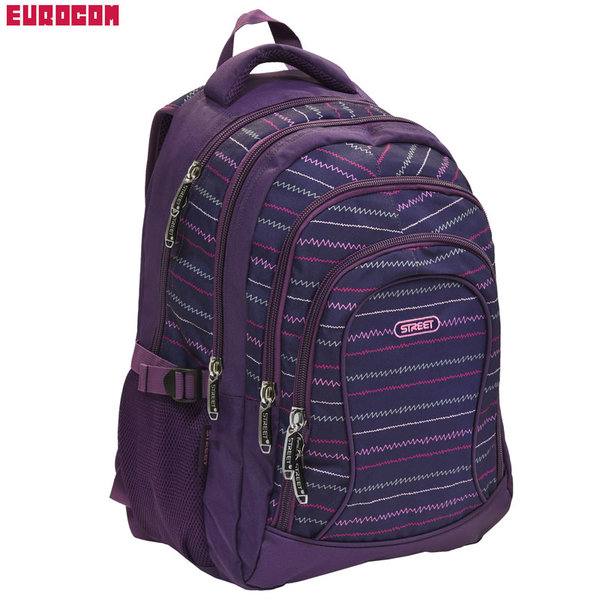 Eurocom - Ученическа раница Street Round Balance Track 53757