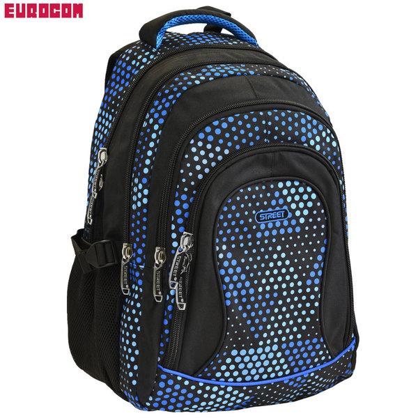 Eurocom - Ученическа раница Street Round Balance Tridot 53766