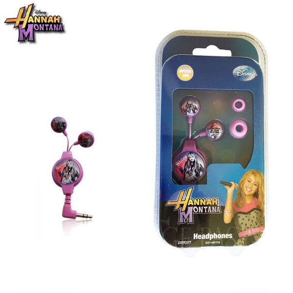Disney Hannah Montana - Детски слушалки Хана Монтана hp770