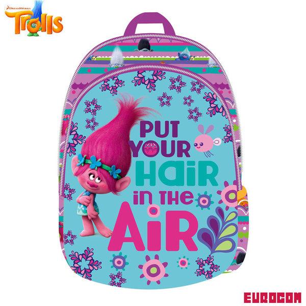 Eurocom Trolls - Раница за детска градина Тролчета 3D 229696