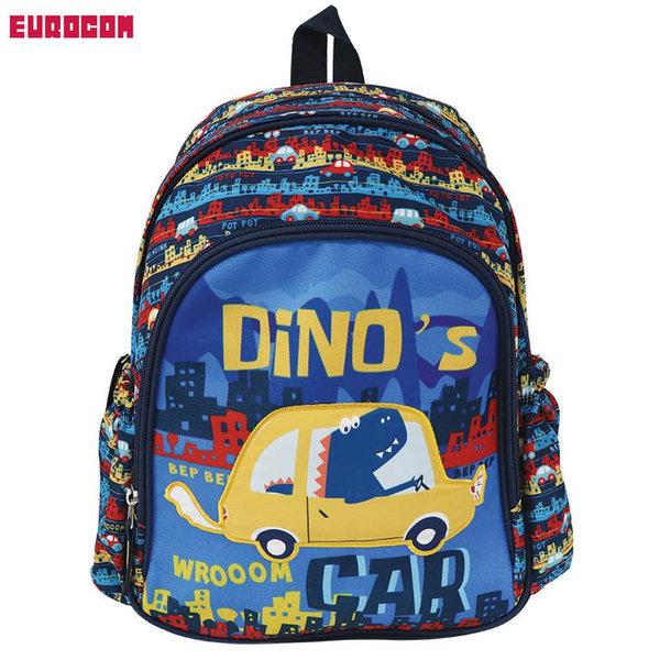 Eurocom - Раница за детска градина Street Kids Dino'S Car 230023
