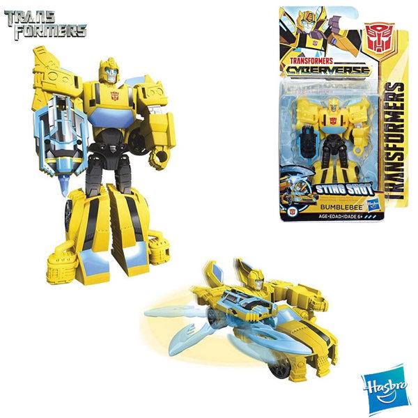 Transformers Cyberverse - Трансформърс екшън фигура 10см Bumblebee Scout Class E1883