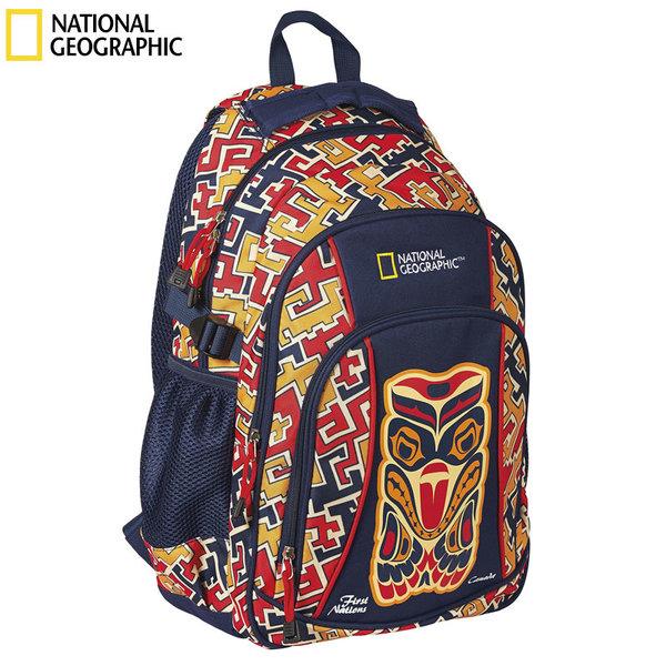 National Geographic - Ученическа ергономична раница Ethno 06560986