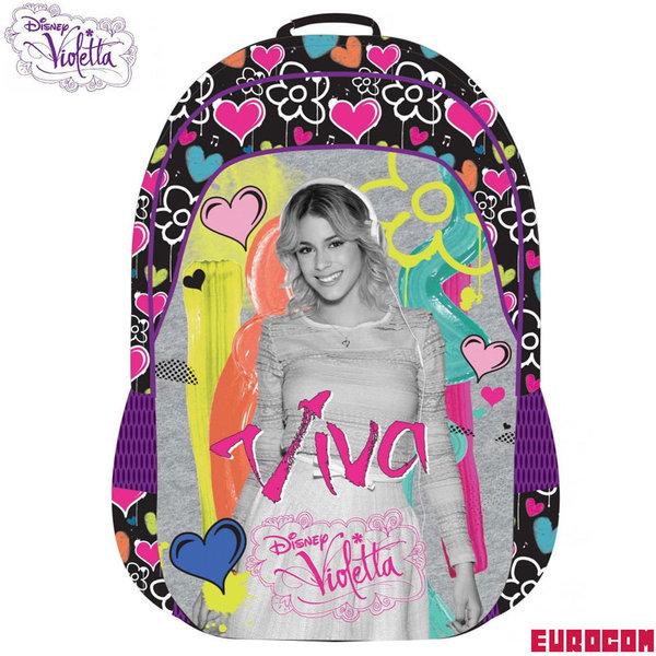 Eurocom Disney Violetta - Ученическа раница Виолета 225645