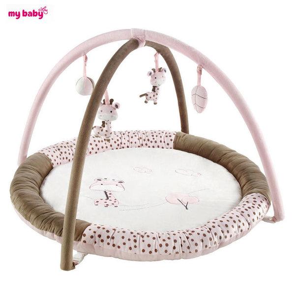 My Baby - Бебешка активна гимнастика розово жирафче 0442210