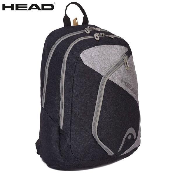 Head - Ученическа раница HD-03 Black/Grey 502017023