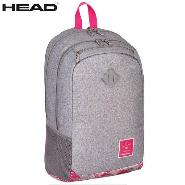 Head - Ученическа ергономична раница HD-05 Pink Tropic 502017024
