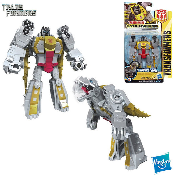 Transformers Cyberverse - Трансформърс екшън фигура 10см Grimlock Scout Class E1883