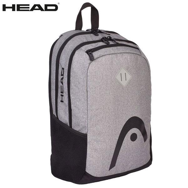 Head - Ученическа ергономична раница HD-13 Black Logo 502017028